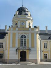 vchod do zámku Šilheřovice