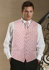 grooms waistcoat and tie