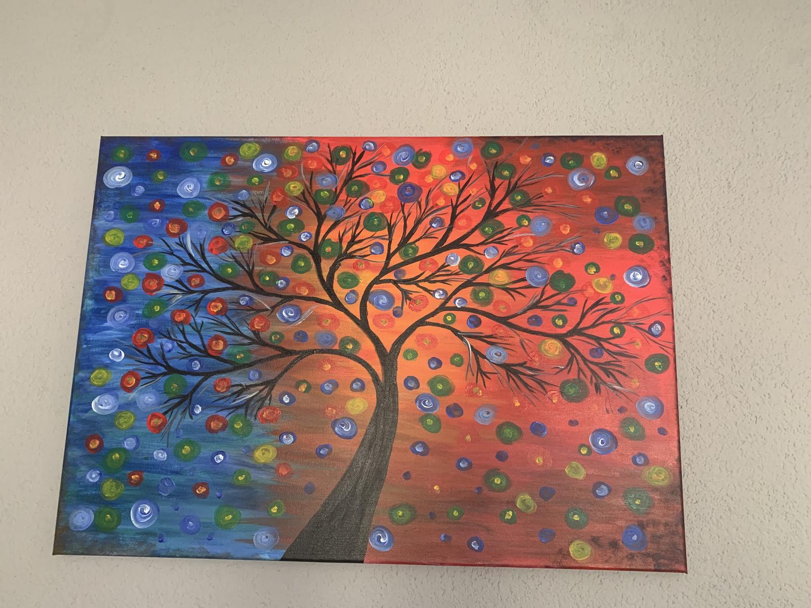 Obraz Strom akryl na platne - Obrázok č. 1
