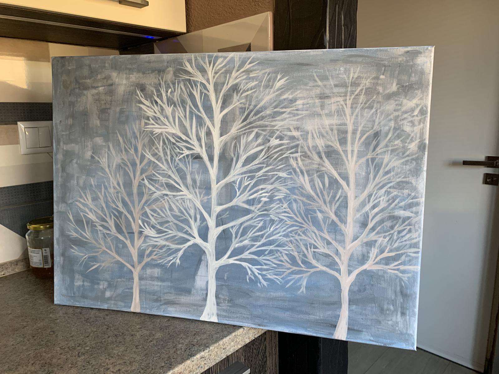 Obraz abstract Stromy - Obrázok č. 1