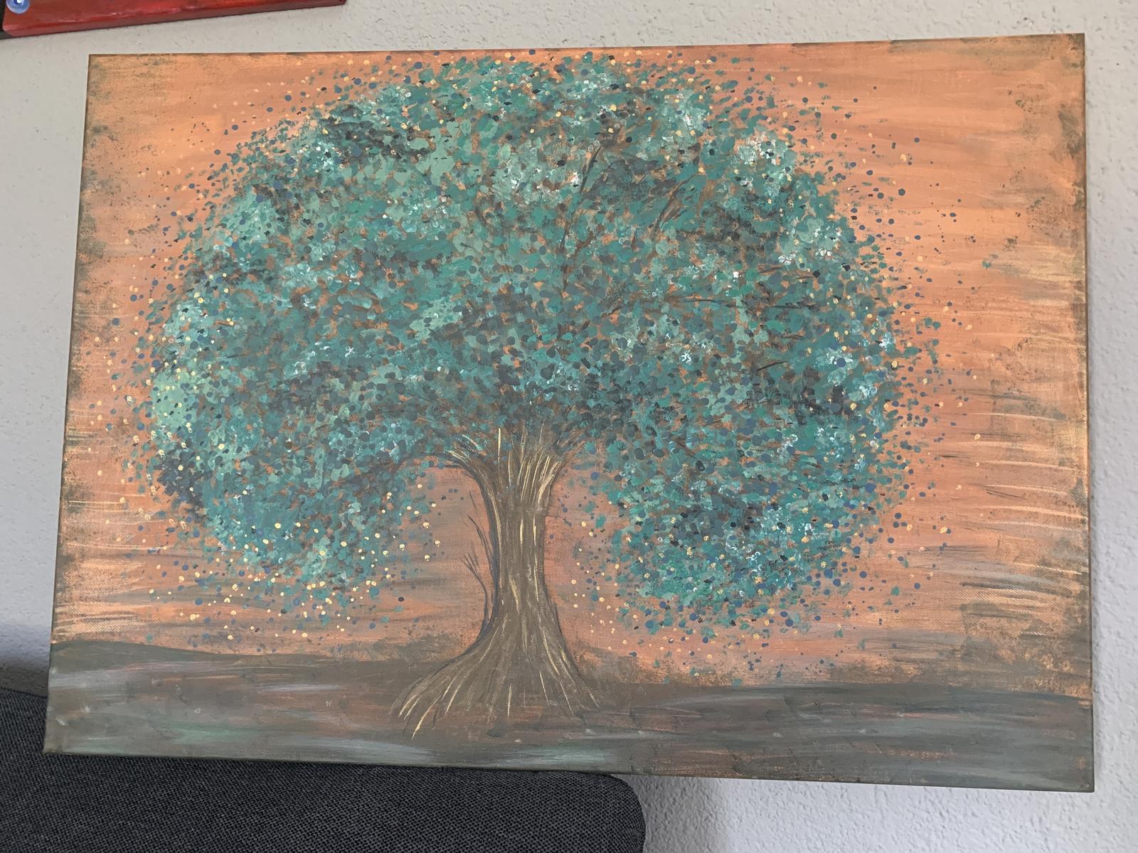 Obraz abstraktný strom - Obrázok č. 1