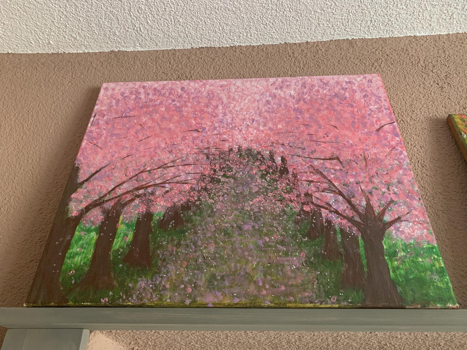 Obraz na stenu čerešňová alej - Obrázok č. 1