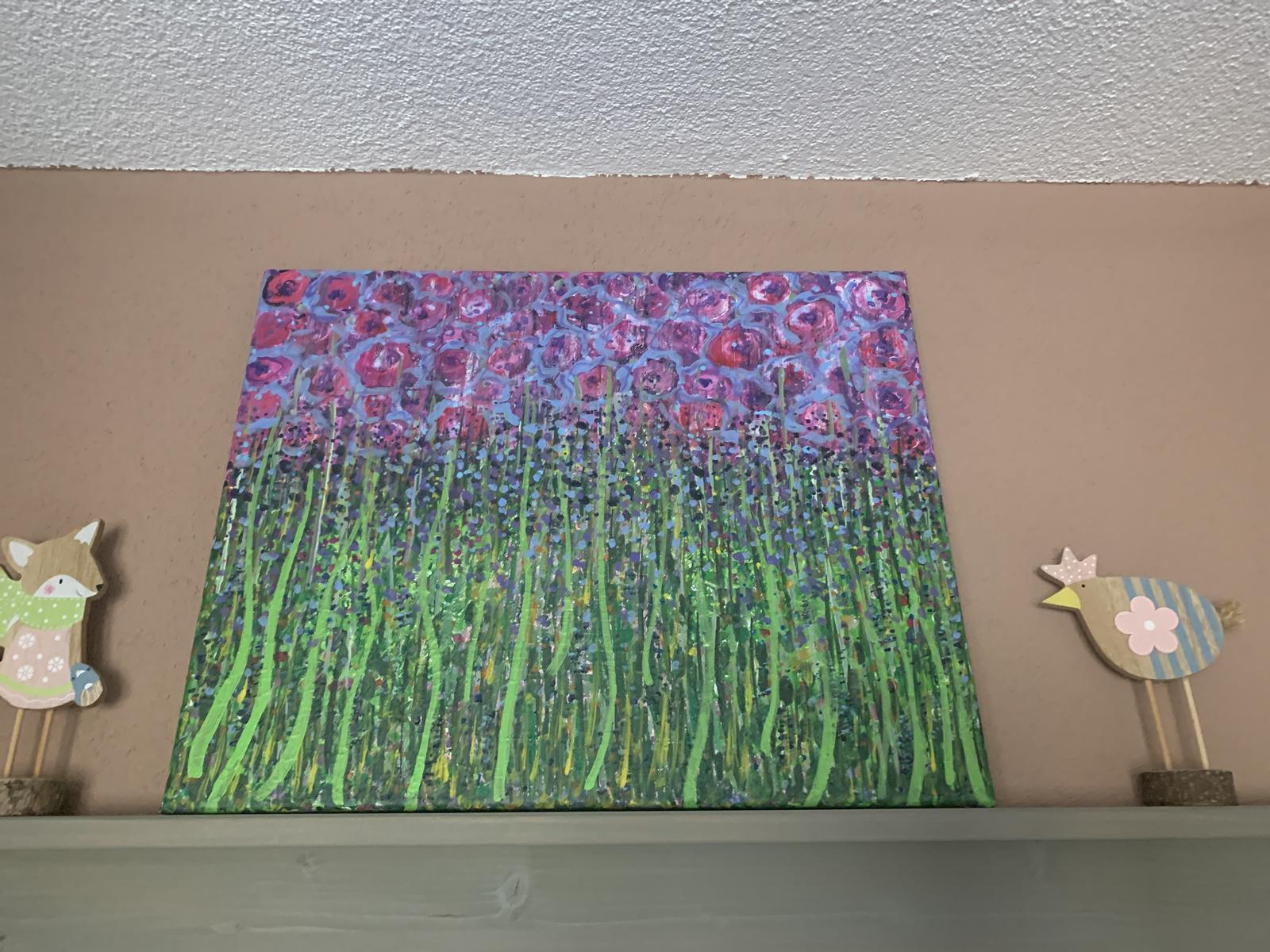 Obraz na stenu abstract lúka - Obrázok č. 1