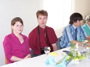 Bratránek s přítelkyní - moc děkujeme za fotky a natáčení