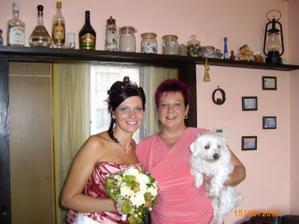 s maminkou a psíkem