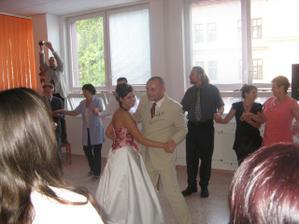 náš první taneček