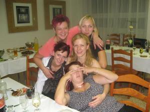 holky z práce s mojí mamkou