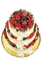Svatební dortík spíš menší.... Nebo ještě menší? ....