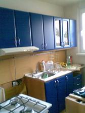 Takto vyzerala kuchyňa na začiatku...