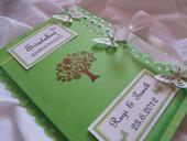 svatební kniha hostů- butterfly,