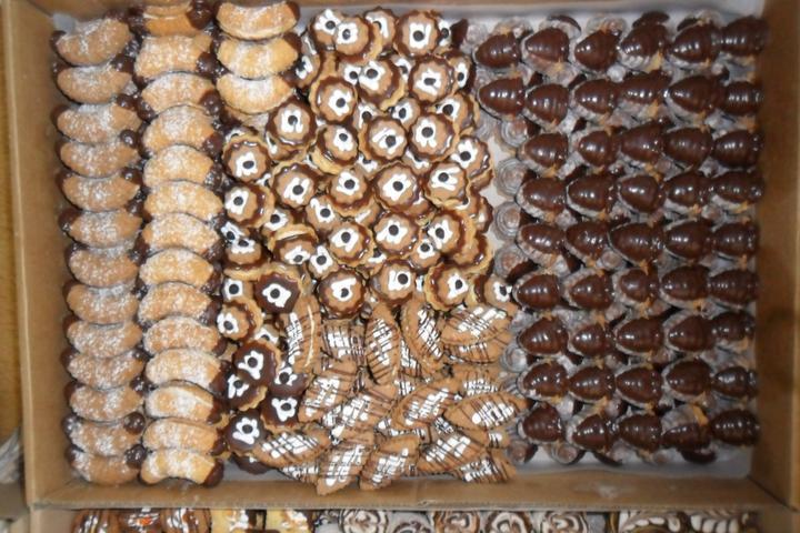 Svatební cukroví a koláčky - moc dobré cukroví od šikovné paní ze Zlučína