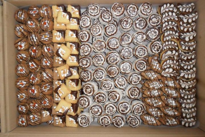 Svatební cukroví a koláčky - samé dobroty