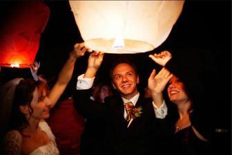 pouštění lampionu