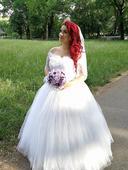 svadobne saty,princeznovske, 40
