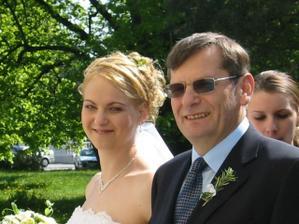 Ja s mojím krstným otcom