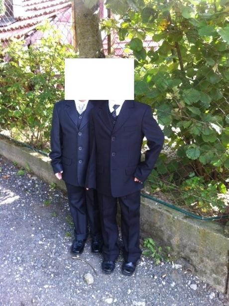 Chlapčenský oblek -  - Obrázok č. 1