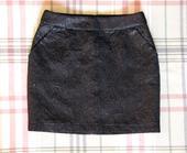 Amisu čierna sukňa 36, 36