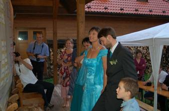předčítáme svatební báseň