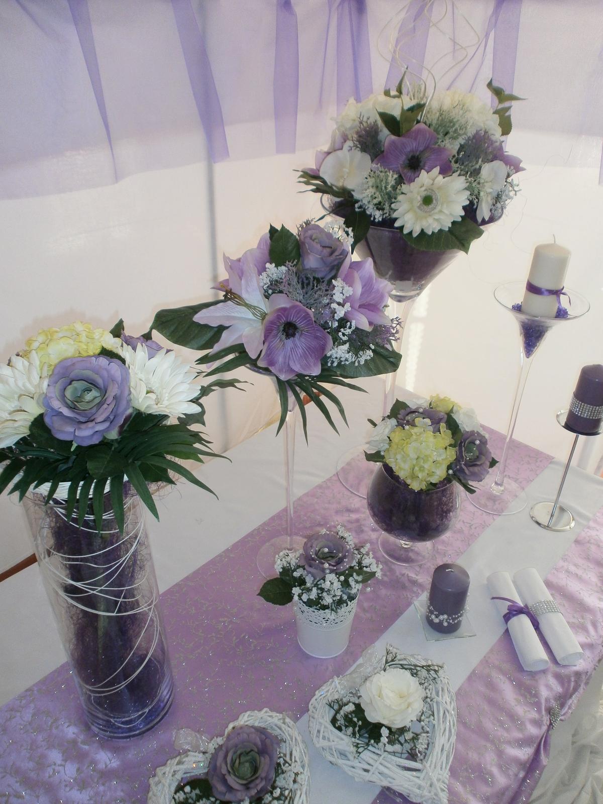 Svadobné dekorácie - Obrázok č. 3