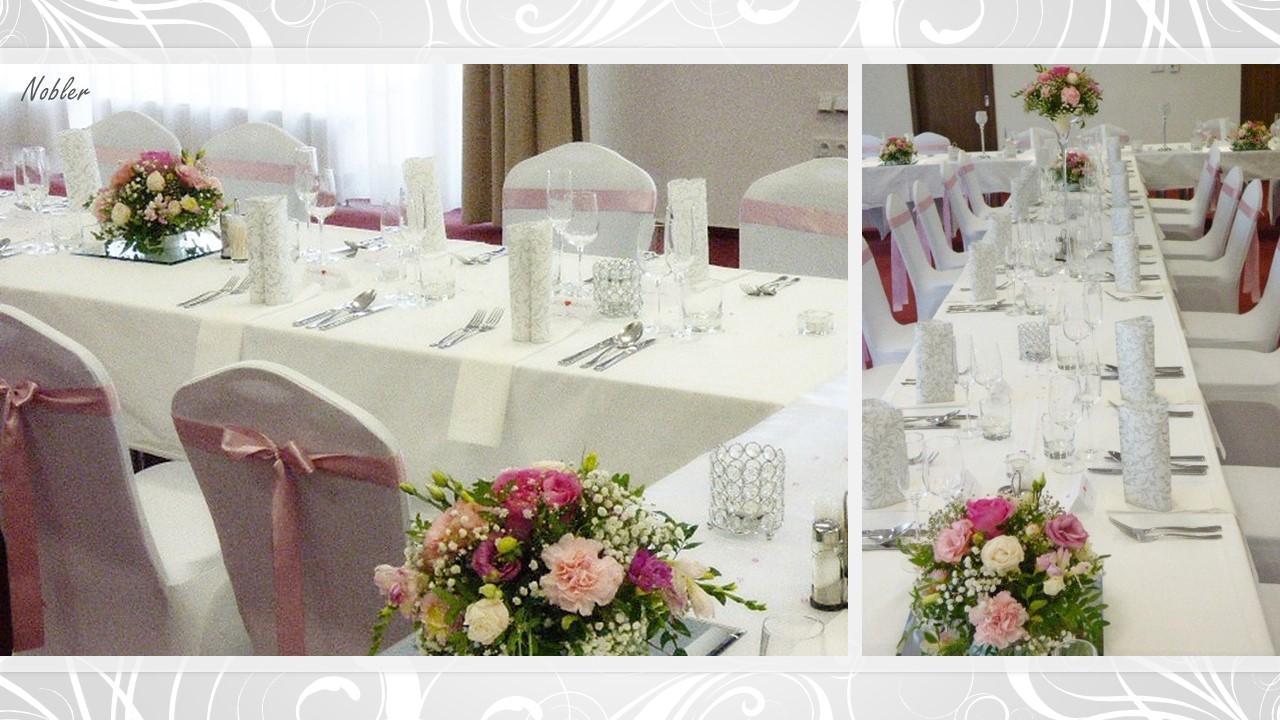 Svadobné dekorácie - požičovňa svadobných dekor. - Obrázok č. 3