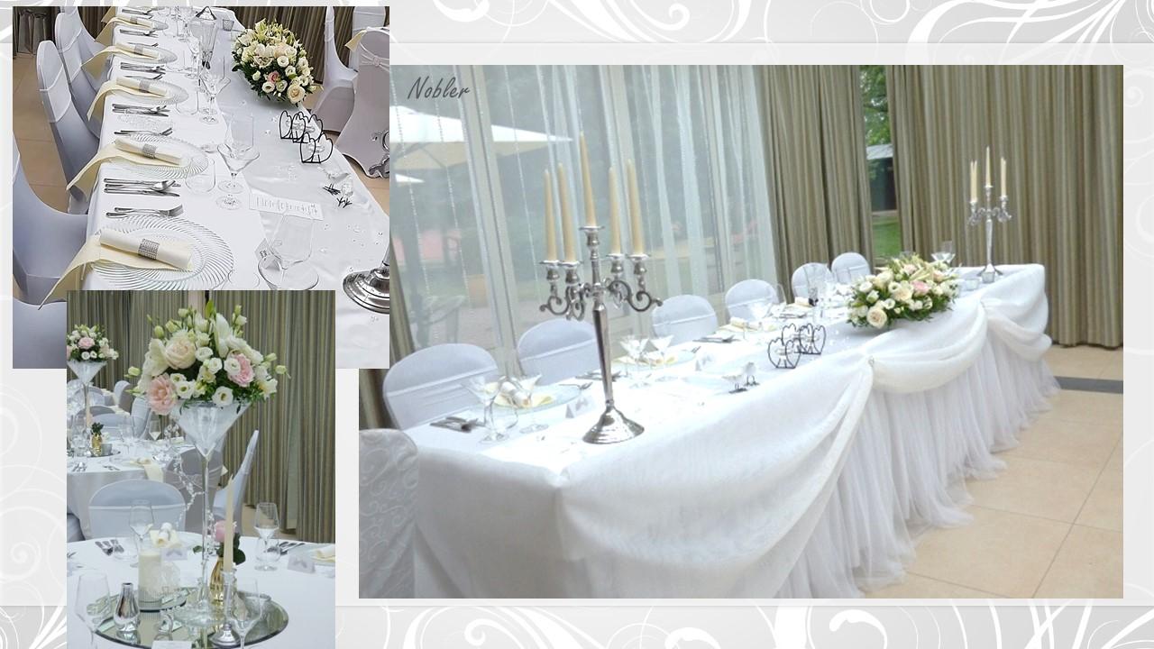 Svadobné dekorácie - požičovňa svadobných dekor. - Obrázok č. 8