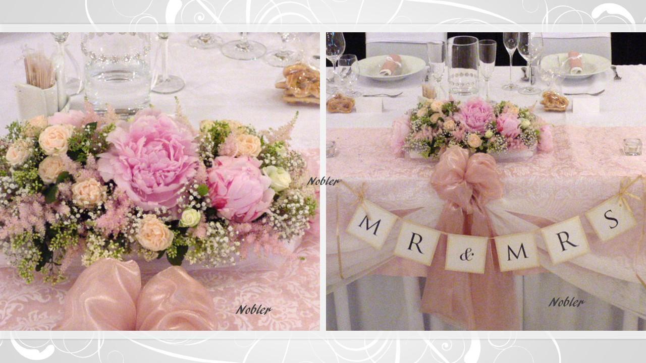 Svadobné dekorácie - požičovňa svadobných dekor. - Obrázok č. 2