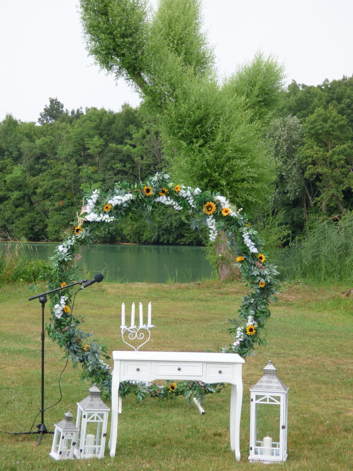 Svadobné dekorácie - požičovňa - Obrázok č. 5