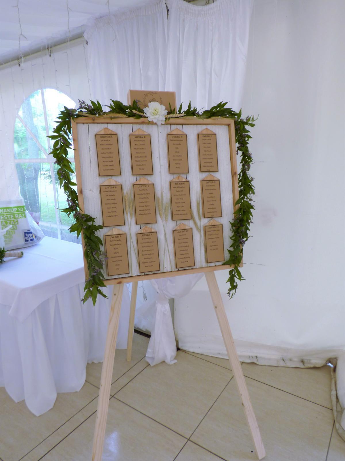 Svadobné dekorácie - požičovňa - Obrázok č. 11
