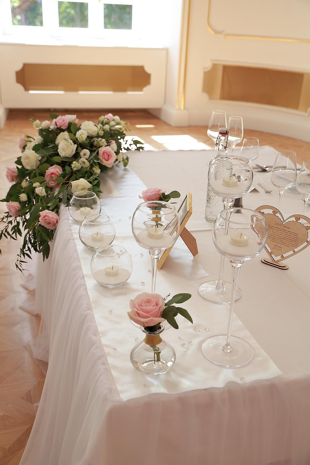 Svadobné dekorácie - požičovňa svadobných dekor. - Obrázok č. 23