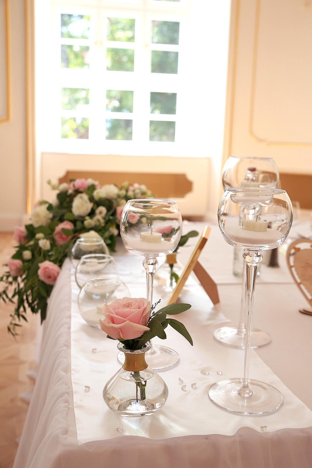 Svadobné dekorácie - požičovňa svadobných dekor. - Obrázok č. 24