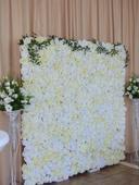 kvetinová stena,