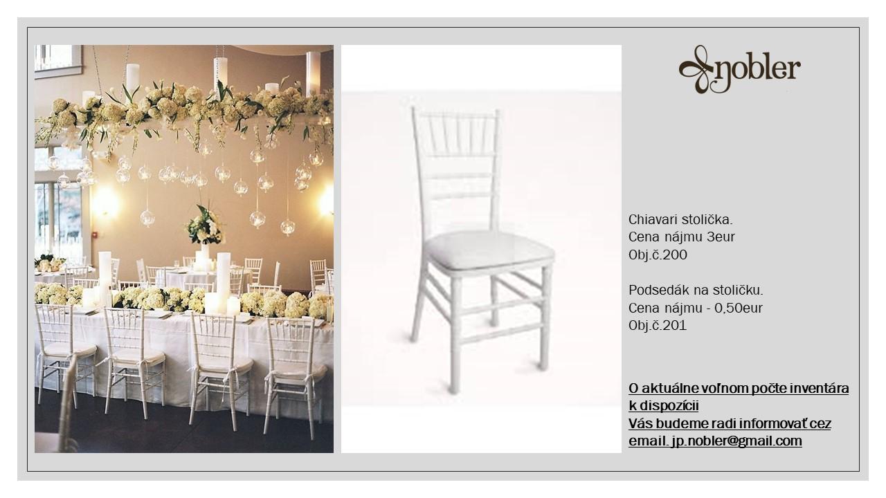 chiavari stoličky - Obrázok č. 1