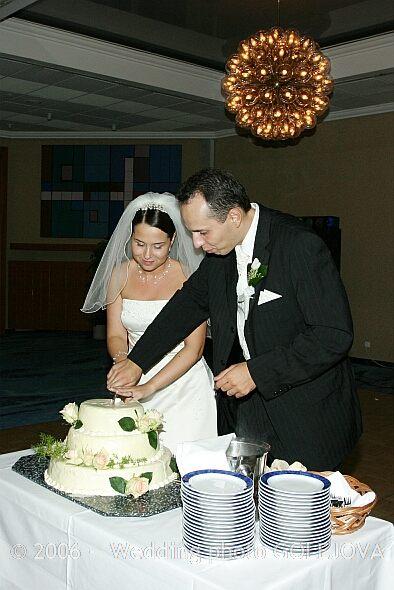 Silvia Poláková{{_AND_}}Vladimír Pros - Krájanie svadobnej torty