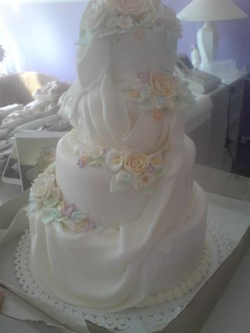 Edko a Lucka 19.9.2009 :-) - torta