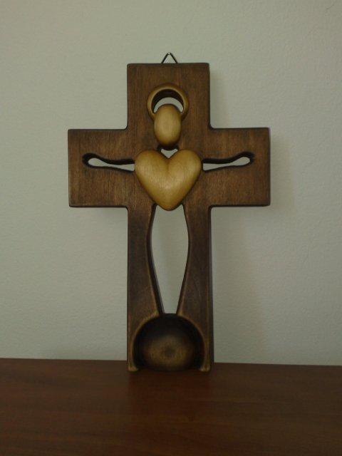 Edko a Lucka 19.9.2009 :-) - svadobný krížik..uz doma...