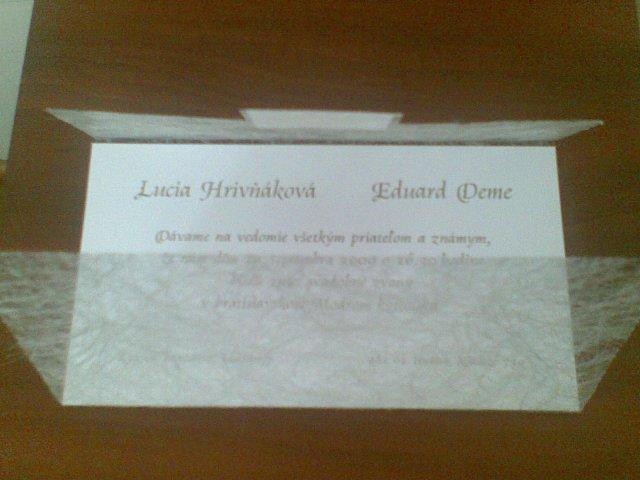 Edko a Lucka 19.9.2009 :-) - ..už doma :-)