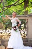 Krajkové svatební šaty vel. 36, 38