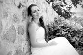 Krajkové svatební šaty (36 - 38), 36