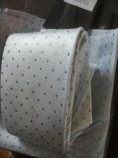 kravata a kapesníček s puntíkama ♥