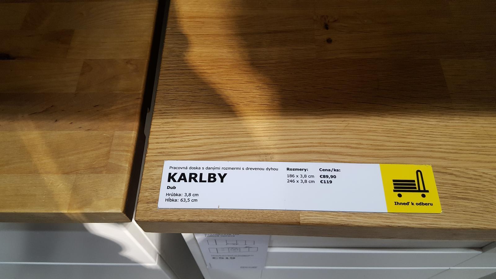 Bol som dnes v ikei a mily zakaznici co vam mila IKEA predstavuje ako masiv sa len tak tvari ru je dokaz - Krasa nie.  Masivna doska juj aka pekna 40 mm cca hrubka