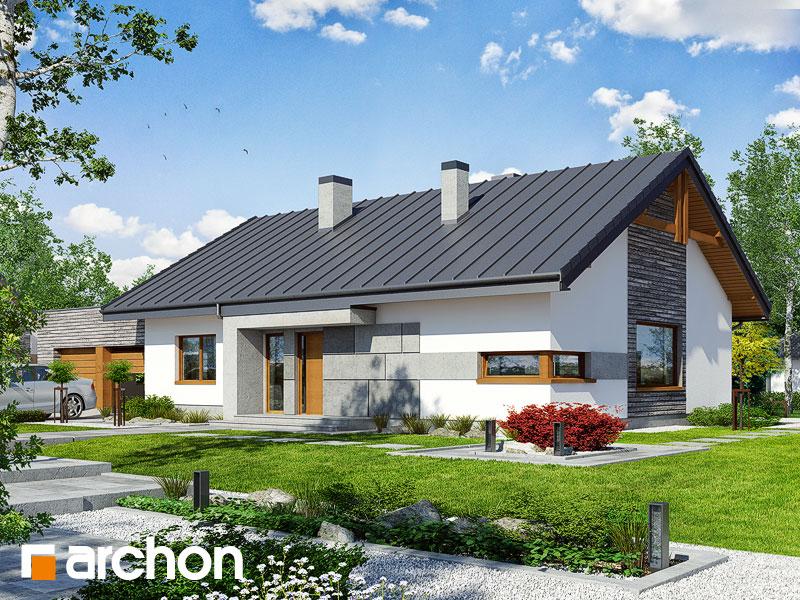 Nádherný moderný dom, dvojgaráž, ... - http://www.projektyarchon.sk/domy-s-dvojgarazou/dom-pod-jarabinou-8--g2n/