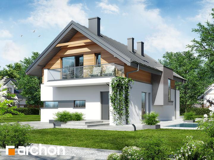 Nádherný Dom Pre úzky Pozemok Httpwwwprojektyarchonsk