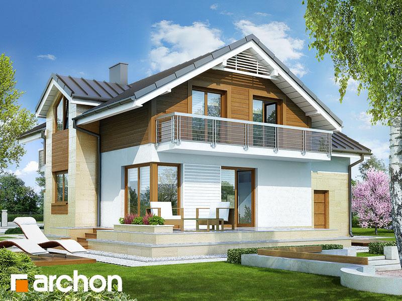 Dom medzi marhuľami 3 - http://www.projektyarchon.sk/domy-poschodove/dom-medzi-marhulami-3/