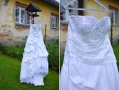 Princeznovské svatební šaty Ananis Bridal, 40