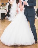 Svadobné šaty na nižšiu nevestu, 34