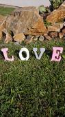 Písmena - LOVE,