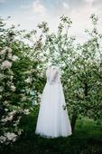 Svatební šaty bílé (vel. 42 - 44), 42