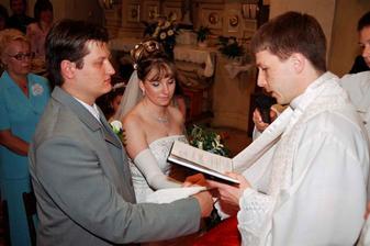prehlasujem Vaše manželstvo .....