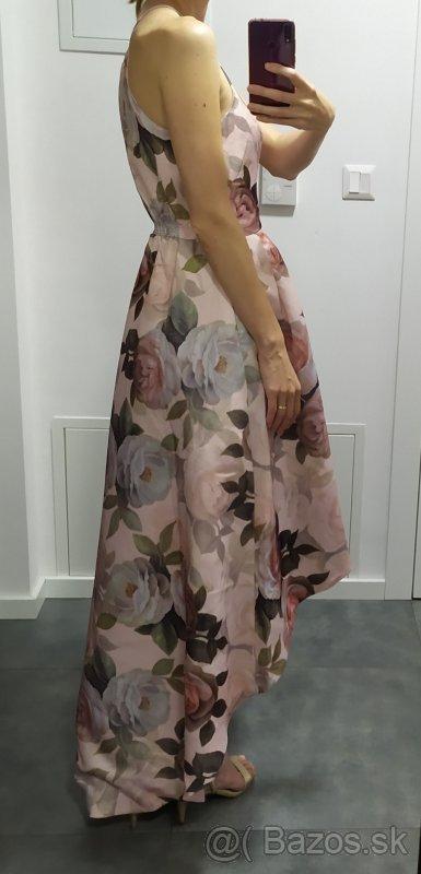 Spoločenské kvetované šaty - Obrázok č. 2