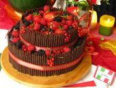 Čokoládové tyčinky na dorty,